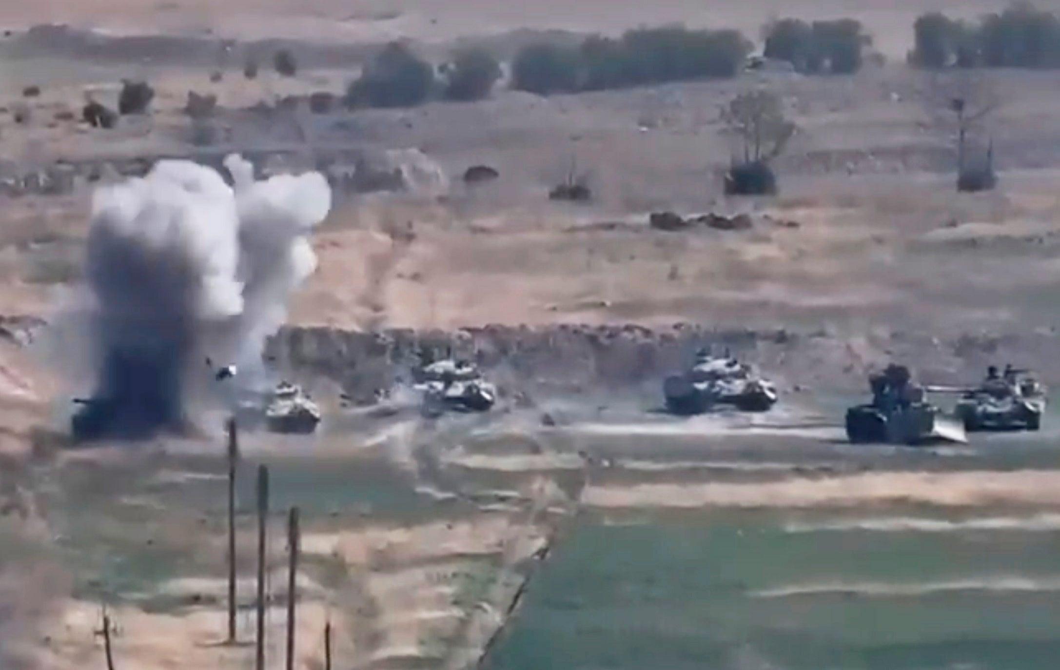 Armenia Azerbaijan fighting erupts
