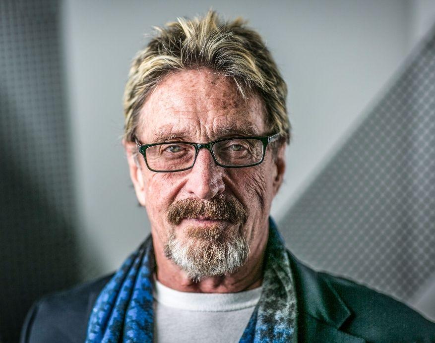 John McAfee Anti-Virus creator arrested