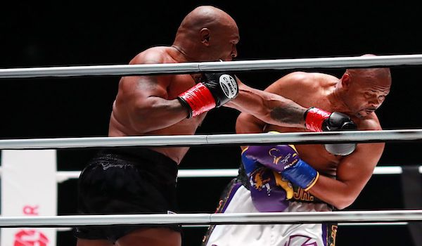Tyson Jones Boxing match fight