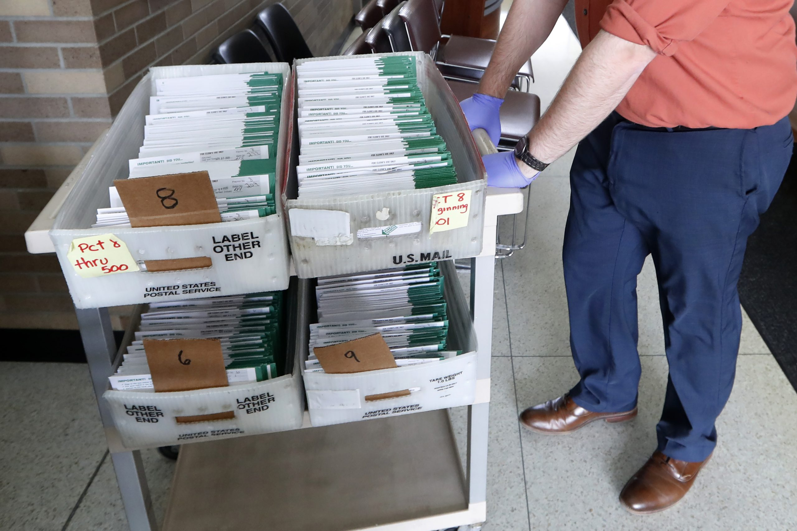 WTH: 35,000 Ballots that Were Deceptively Brought in…