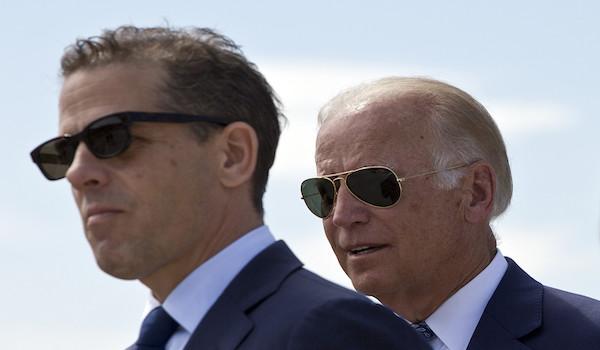 Trump Biden Felony Hunter Ukraine latop