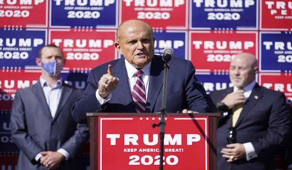 Trump Campaign attorney Nevada Supreme Court lawsuit voter fraud election