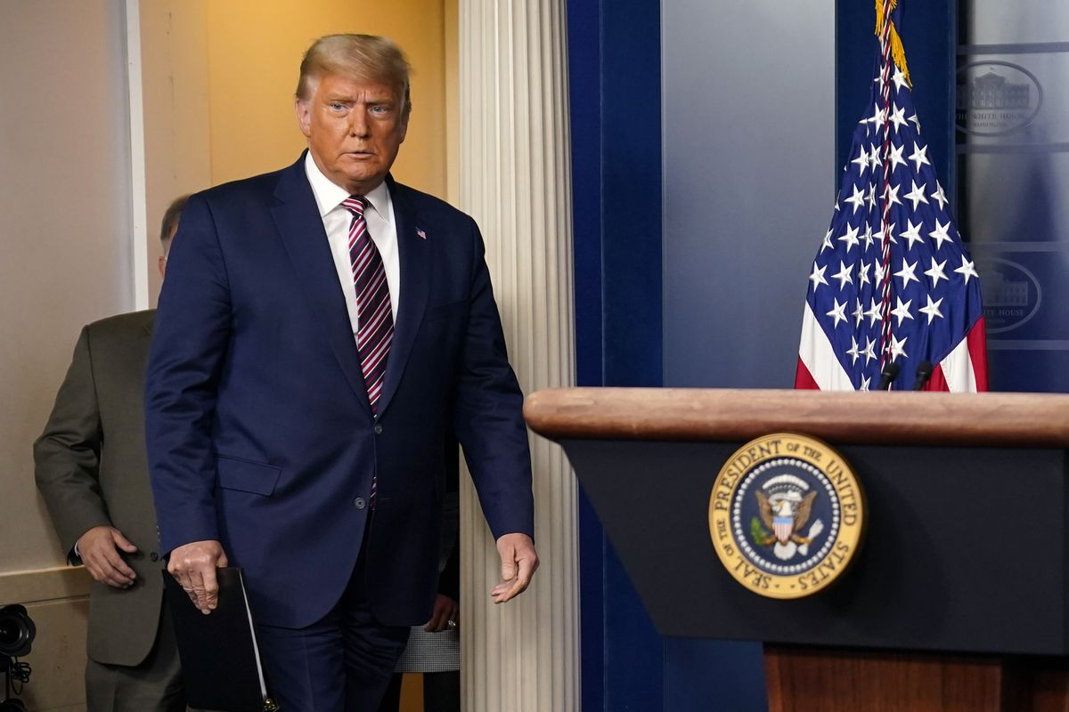 President Trump Issues Warning, MSM Ignores it