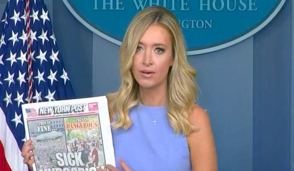 Kayleigh McEnany CNN Watters Interview Fox Trump Twitter