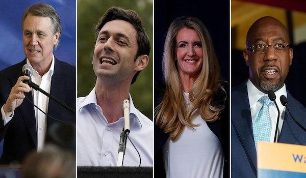 Democrat 1,200 vote election Georgia voter fraud