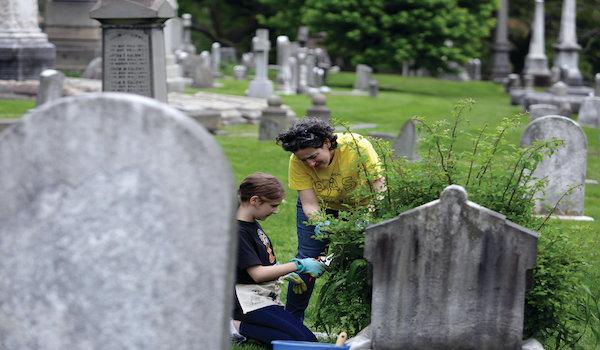 dead bodies washington state cemetery