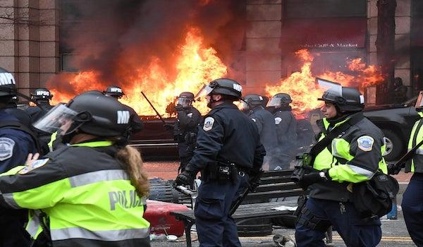 Washington Capitol inauguration riots