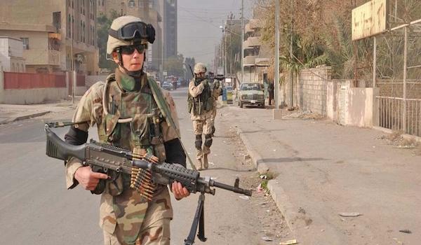 iraq war military drone ISIS terrorists