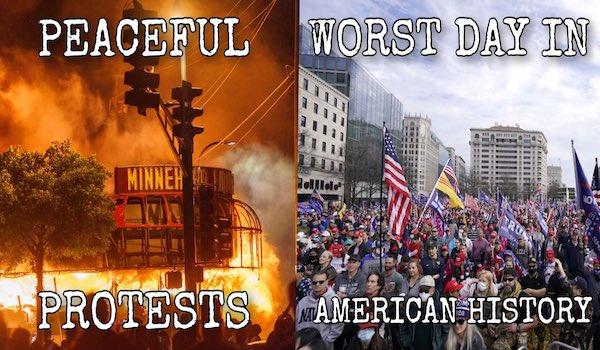 Capitol riot MAGA trump march