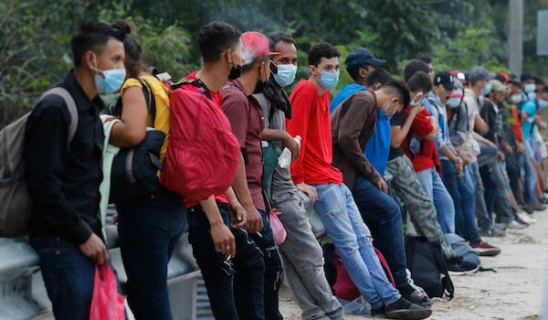 Biden Mexico Caravan border