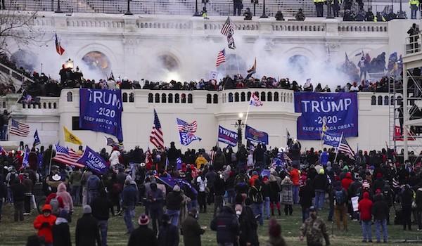 Democrat riots capitol trump impeachment