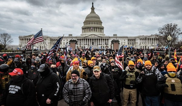 Capitol riot protest Trump MAGA