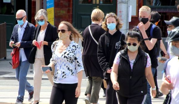 COVID pandemic lockdown Fauci