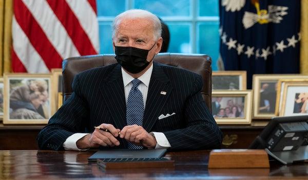Biden executive orders COVID economy poll