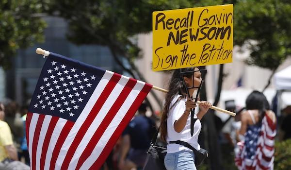 california governor newsom recall petition