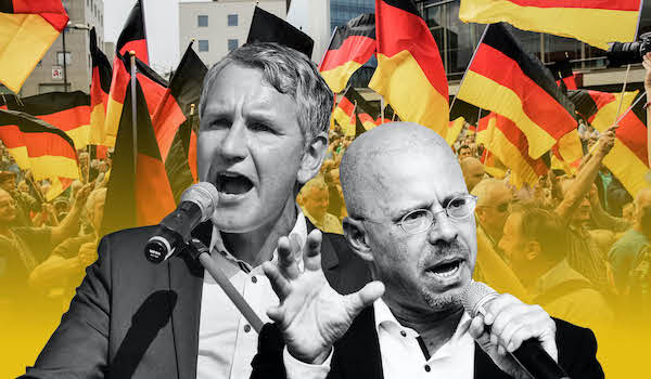 germany right wing party under surveillance