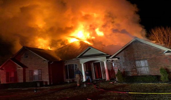 black BLM house fire murder