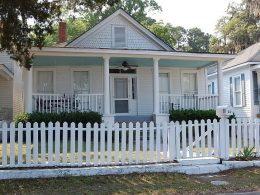 If You See Blue Paint on a Front Porch, HERE is What it Means